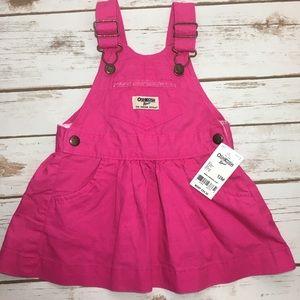 {OshKosh B'Gosh} Pink Overall Skirt